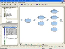 Reliability Block Diagram Screen Shot